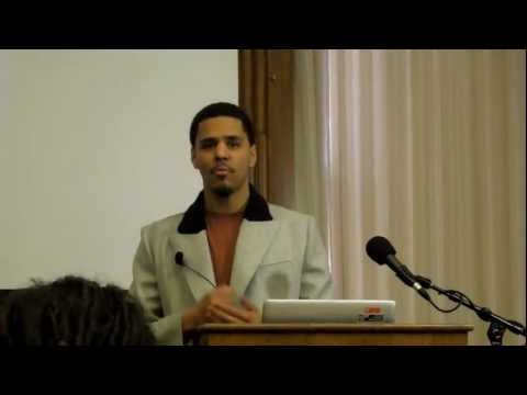 J. Cole Explains The Concepts Of Born Sinner In Detail At Harvard