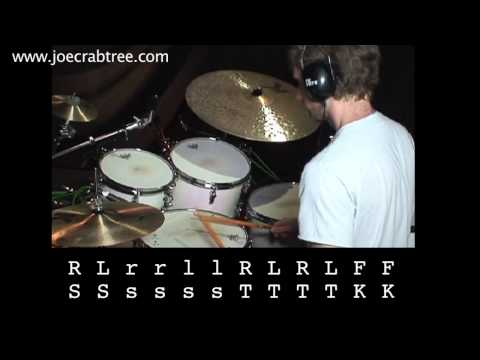 Drum Lesson : Vinnie Colaiuta fill from Robben Ford recording