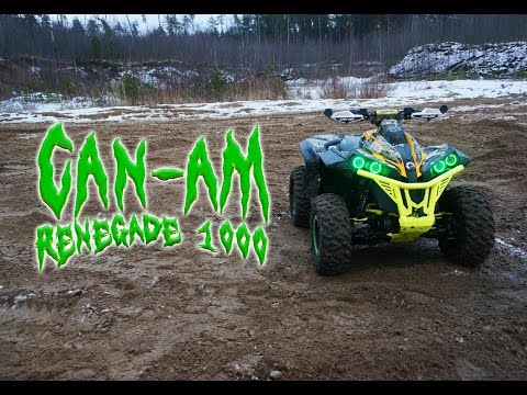 Обзор и тест-драйв квадроцикла BRP Can-Am Renegade 1000 X Xc