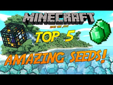 Minecraft Xbox One/PS4: Top 5 Amazing Seeds! (HD)