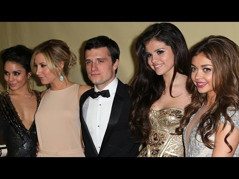 Selena Gomez & Vanessa Hudgens: Golden Globes After Party Fashion video