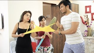 2 girls living with a bachelor in a room |Fly High|