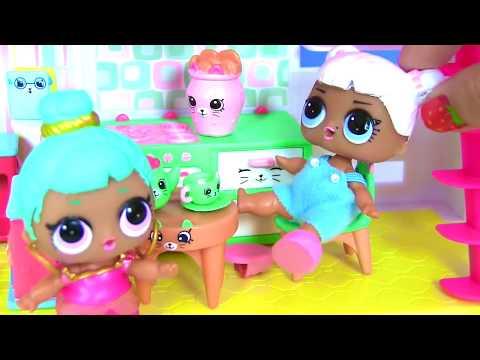 LOL SURPRISE DOLL КУКЛЫ ЛОЛ ПУПСИКИ Видео для Детей #Игрушки для детей