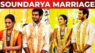 WOW: Soundarya Rajinikanth Wedding Reception Happend Today !!