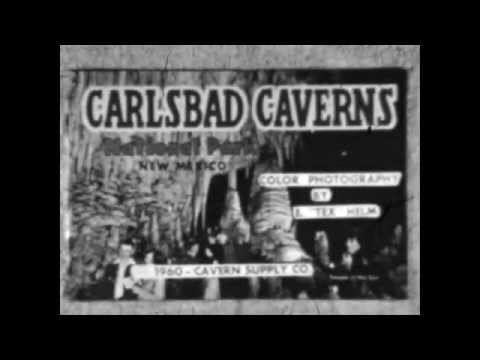 Carlsbad Caverns -  National Park -  New Mexico - Travel and Tourism (1949)