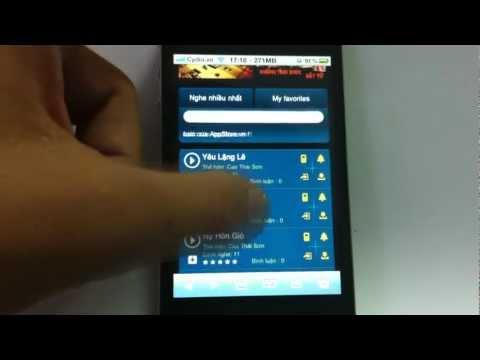 Hướng Dẫn Cách Tải Nhạc Cho Iphone Với Kho Nhạc Appstore.vn video