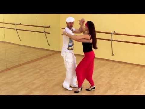 Сальса видео - Урок сальса №1 (Базовый шаг)