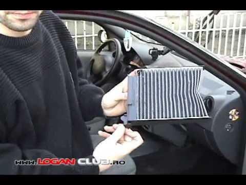 как правильно установить фильтр салона в kia ceed 2006