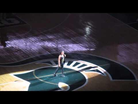 Michigan State Women's Basketball Team Entrances Midnight Madness 2014