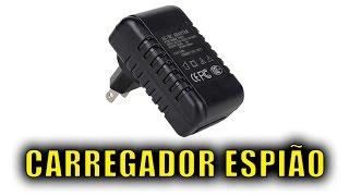 VOCÊ PRECISA CONHECER ESTE CARREGADOR COM CÂMERA ESPIÃO USB - CÂMERA OCULTA WIFI- MICROCAMERA WIFI