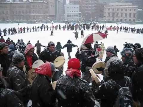 Idle No More Round Dance - Ottawa J28