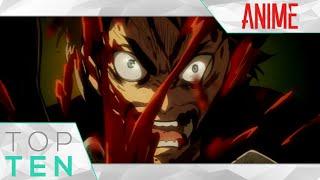 Top 10 Romance/Super Power Anime with BADASS Male Lead [HD]