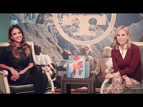 Jessica Alba Interviews Tory Burch about Her New Book – Tory Burch In Color