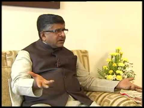 Interview with Union Minister Ravi Shankar Prasad