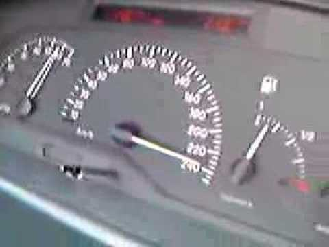My Renault Laguna Top Speed 240 km/h+.