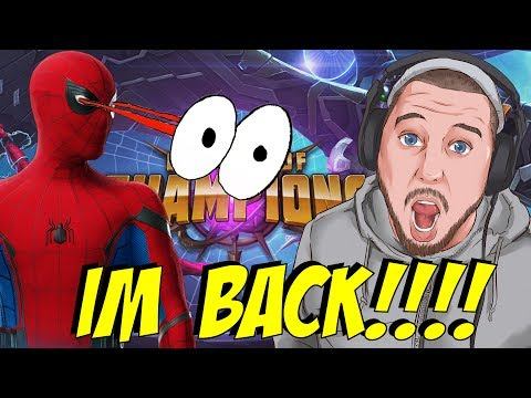 IM BACK DUDES!!!!!! MARVEL Contest of Champions Crystal Opening lol!!!!!