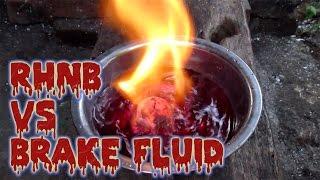 Red Hot Nickel Ball vs Brake Fluid - RHNB #8