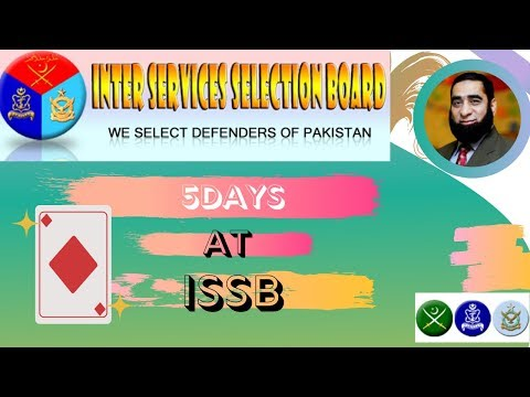 ISSB Complete 5 Days  Stay and Procedure