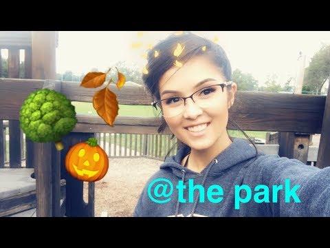 IRL VLOG @the park 🌳🍂