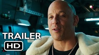 : The Return of Xander Cage Official Trailer #1 (2017) Vinsel Action Movie HD