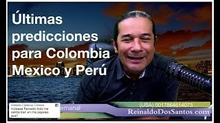 Horóscopo Semanal del 20 al 26 de Mayo. 2018 Con Reinaldo dos Santos