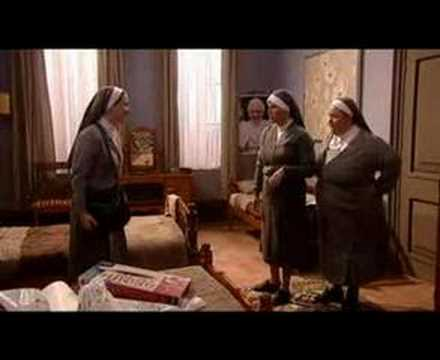 Nun bit French and Saunders X-mas 2005
