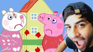 PEPPA PIG - EL DIA DE LA PELEA - VIDEO REACCION - EHLIAX