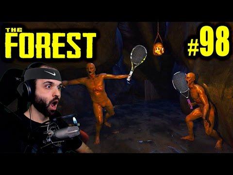 The Forest #98 | LA AVENTURA DE LA RAQUETA DE TENIS | Gameplay Español