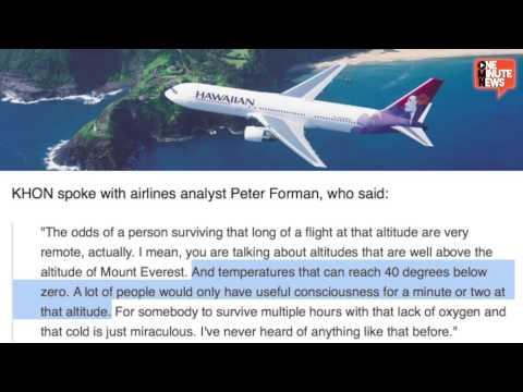 Teen Stowaway Survives Flight To Hawaii In Jet Wheel Well