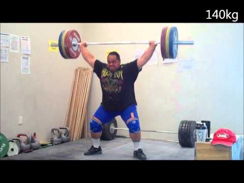 2013 Training Highlights #4 - Strongman & Olympic Lifts - Sat 26th Jan Image 1
