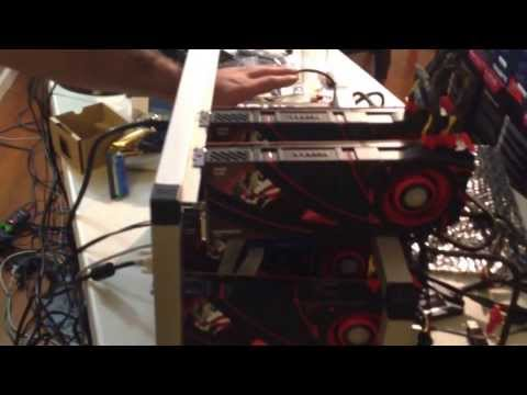 R9 290 Bitcoin & Litecoin mining rigs (19.000 KH/s)
