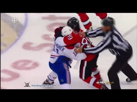 Brendan Gallagher vs Cory Conacher May 5, 2013