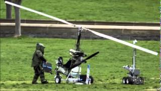 video U.S. Homeland Security Secretary Jeh Johnson says the man who landed a single-seat helicopter Wednesday on the grounds of the U.S. Capitol literally flew