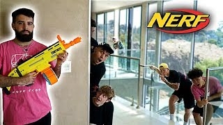 FaZe Clan NERF Hide and Seek Challenge