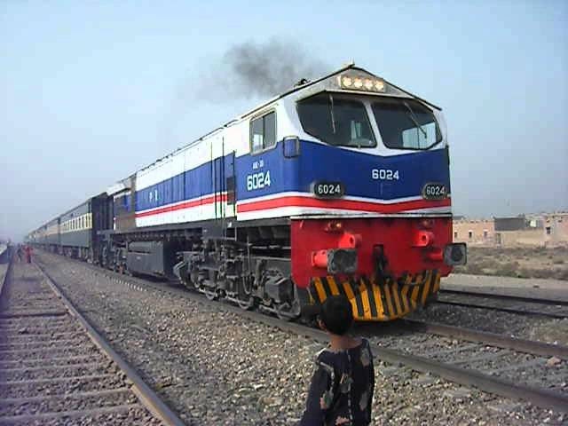 Pakistan Railways Mis use of Busness Express Locomotive 25.03.12.AVI