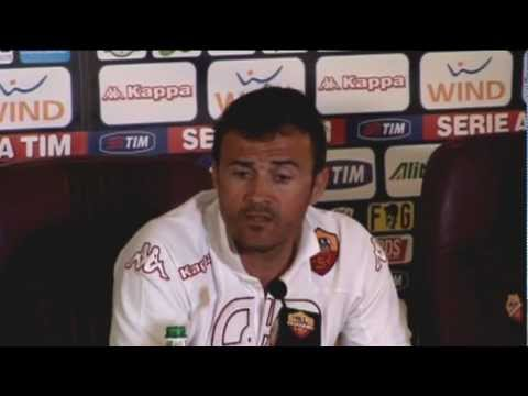 EXHAUSTED Luis Enrique to exit Roma