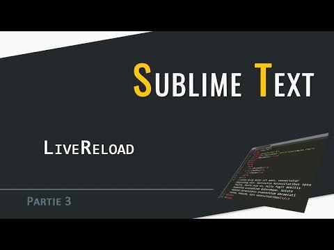 Sublime Text | LiveReload