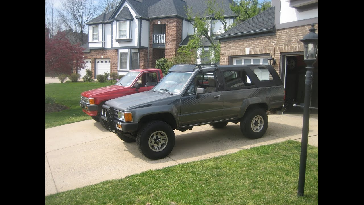 1987 first gen toyota 4runner youtube. Black Bedroom Furniture Sets. Home Design Ideas