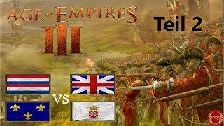 Hartes Battle als Holländer Teil 2 // Age of Empires III // 2vs2 / Große Prärie [Deutsch/HD]