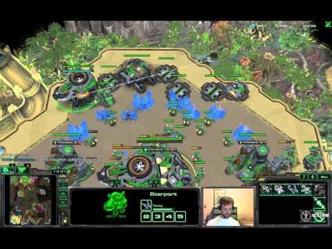 Troll Build vs 7 Roach Rush - TvZ Starcraft 2 HotS
