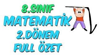 8Snf Matematik 2Dnem Full zet  Ara Tatil Kamp