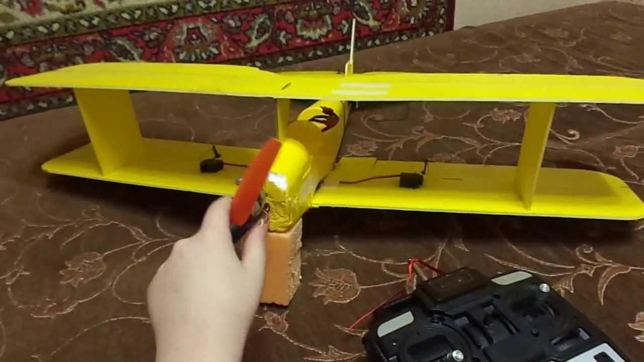 Как построить радиоуправляемый самолет своими руками