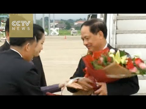 Officials arrive in Vientiane ahead of ASEAN Foreign Ministers' meeting