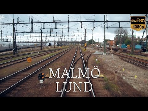 Train Driver s View: Malmö C - Lund C