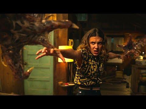Eleven vs Mind Flayer | Stranger Things 3