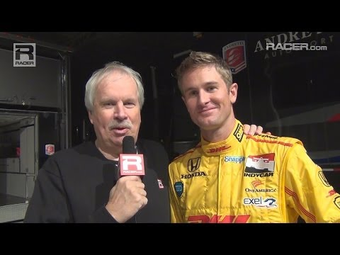 RACER: Ryan Hunter Reay Andretti Autosport Unveil 2014