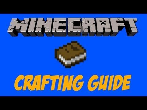 Minecraft: Crafting Guide Mod 1.4.7 - Recipe Book!!