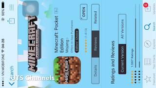 Hướng Dẫn Tải MineCraft Pocket Edition Trên Appstore Cho IOS