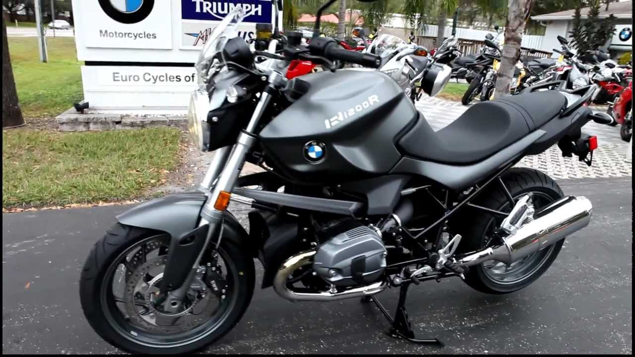 2012 bmw r1200r low in grey at euro cycles of tampa bay. Black Bedroom Furniture Sets. Home Design Ideas