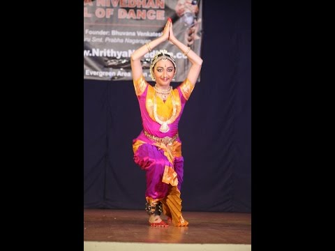 Bharathanatyam Thillana - Poornachandrika - Harshitha Venkatesh video